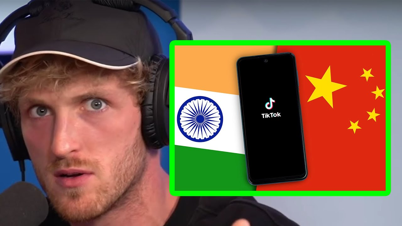 LOGAN PAUL REACTS TO INDIA BANNING TIKTOK