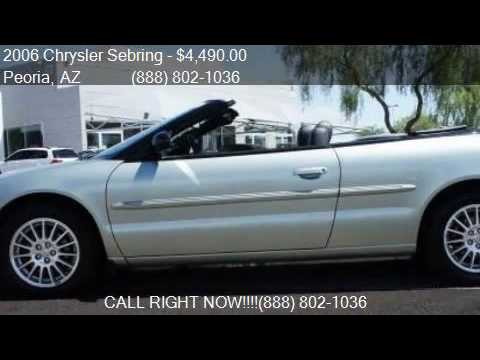2006 Chrysler Sebring Touring 2dr Convertible for sale in Pe
