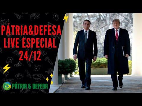 Live Especial 24-12 Atualizações Brasil e Estados Unidos, Geopolítica o Que Esperar