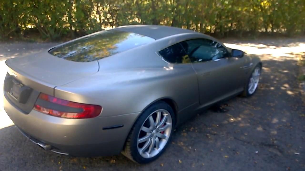 Aston Martin DB Amazing Super Car For YouTube - 2005 aston martin db9