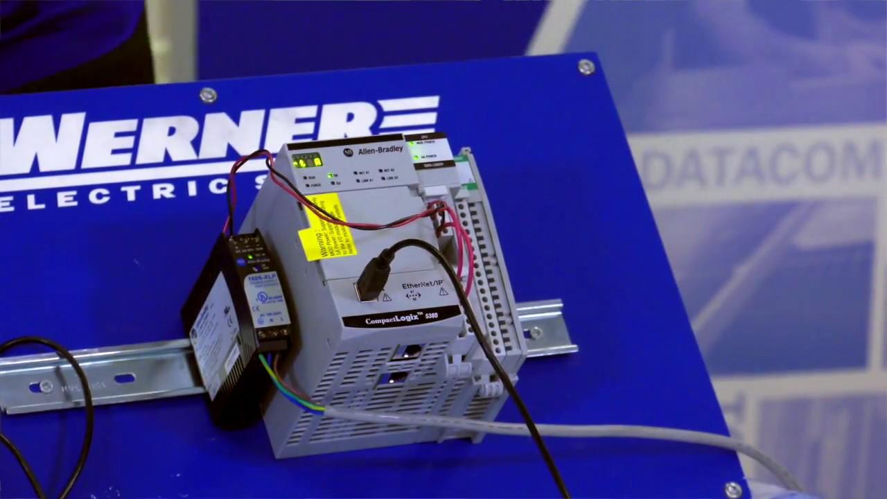 Allen-Bradley CompactLogix 5380 Set Up Demonstration