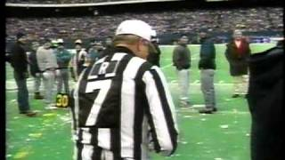 Giants vs Chargers 12/23/95 - The Snowball Game (part 1)