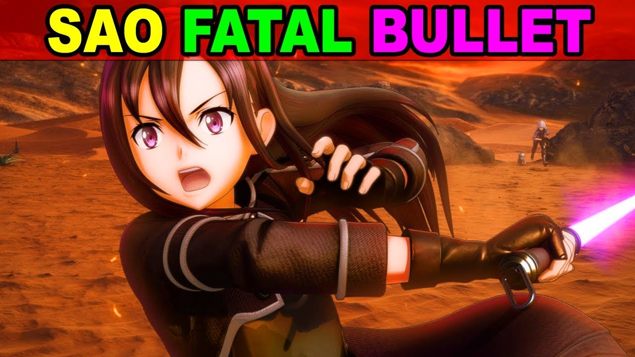 New Sword Art Online Fatal Bullet Announced!!  Sword Art Online GGO Gun Gale Online Style Gameplay