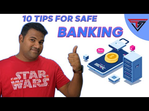 10 Tips for Safe Banking | Technspice