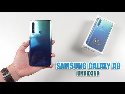 Mở hộp smartphone 4 camera đầu tiên của Samsung, giá 13 triệu đồng