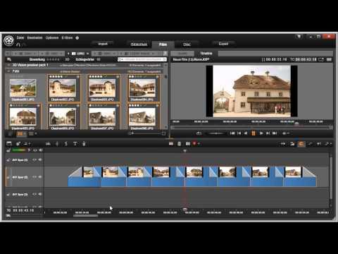 Überblendung einfügen in Pinnacle Studio 16 und 17 Video 51 von 114