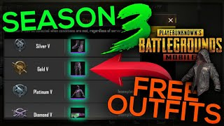 FREE OUTFITS IN SEASON 3! PUBG MOBILE BETA TEST NEW RP INFO! PUBG MOBILE   FUTURE GAMING