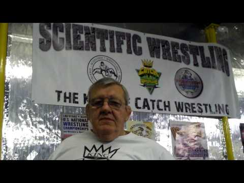 Scientific Wrestling Cert W/ Billy Robinson And Jake Shannon (07/09)