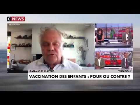 Download Le virologue Pr Claverie très choqué de la vaccination des enfants le 6 septembre 2021
