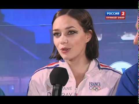 EC 2012 - Nathalie PECHALAT / Fabian BOURZAT - Winners Interview