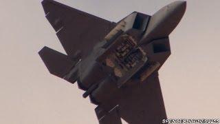 2012 F-22 Raptor Demo