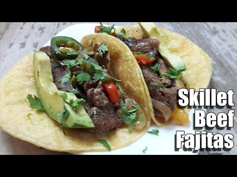 Skillet Beef Fajita Recipe