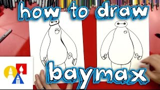 How To Draw Baymax (Big Hero 6)