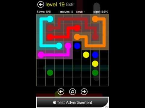 Flow 8x8 Level 19 (Regular Pack)