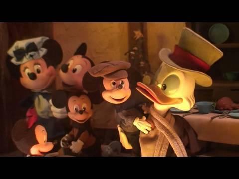 Mickeys Christmas Carol Pete.Video Mickey S Christmas Carol Animated Windows Displays At