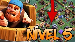 COMO VENCER O LAYOUT MAIS TOP DO CC5 NA BASE DO CONSTRUTOR ? - CLASH OF CLANS