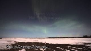 3/9/2012 Central Minnesota, Auroras from G3 Geomagnetic storm