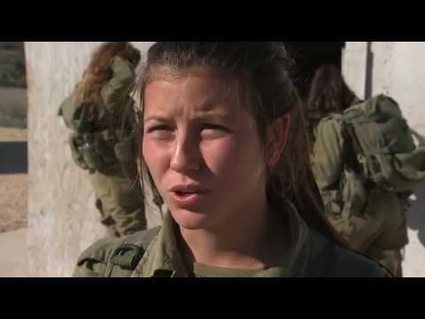 Israeli women soldiers training to fight ISIS  (Israel Defense Forces IDF army soldiers)