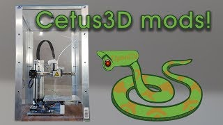 Modified Cetus 3D printing ABS and Polycarbonate, Revolutionary timelapse