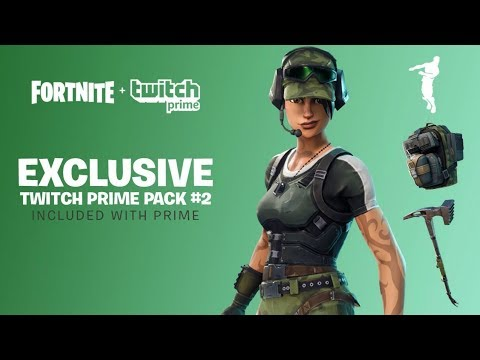 *NEW*  *HOW TO GET NEW FORTNITE* TWITCH PRIME LOOT (#2)