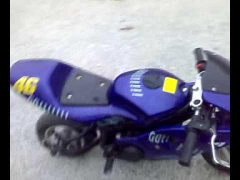 new arrivals 2de46 9d37d minimoto valentino rossi - YouTube