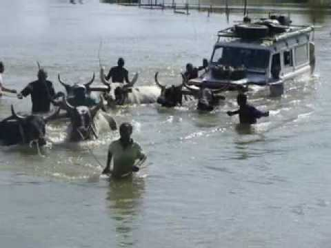 Land Rover Limpopo River crossing