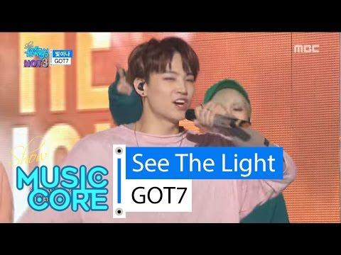 [HOT] GOT7 - See The Light, 갓세븐 - 빛이나 Show Music core 20160326