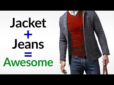 Perfect Clothing Combo? | Sports Jacket + Jeans = AWESOME | How To Wear Jackets With Denim