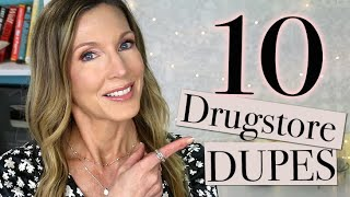 10 Drugstore Dupes for High-End Beauty | 5 Skincare + 5 Makeup!