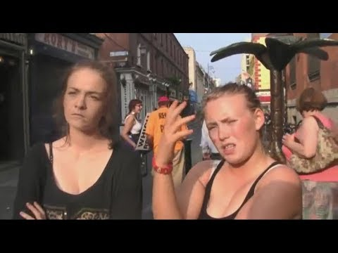 Witnessing in Dublin, Ireland | Temple Bar Area | Kerrigan Skelly