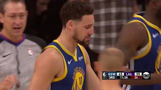 Golden State Warriors vs Los Angeles Lakers - Full NBA Highlights | January  21, 2019
