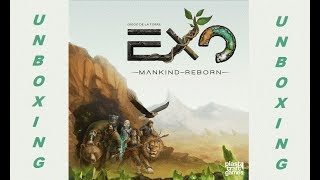 EXO Mankind Reborn - Unboxing - All in Pledge