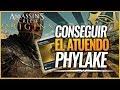 Assassin's Creed Origins | Como conseguir el ATUENDO de PHYLAKE CAPUCHA NEGRA (Derrotarlos a todos)