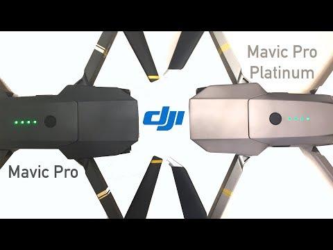 Mavic Pro vs Mavic Pro Platinum - Which to Buy