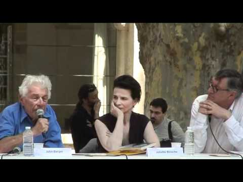 John Berger et Juliette Binoche pour De A à X