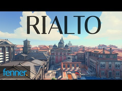 Rialto (NEW OVERWATCH MAP) first look and impressions