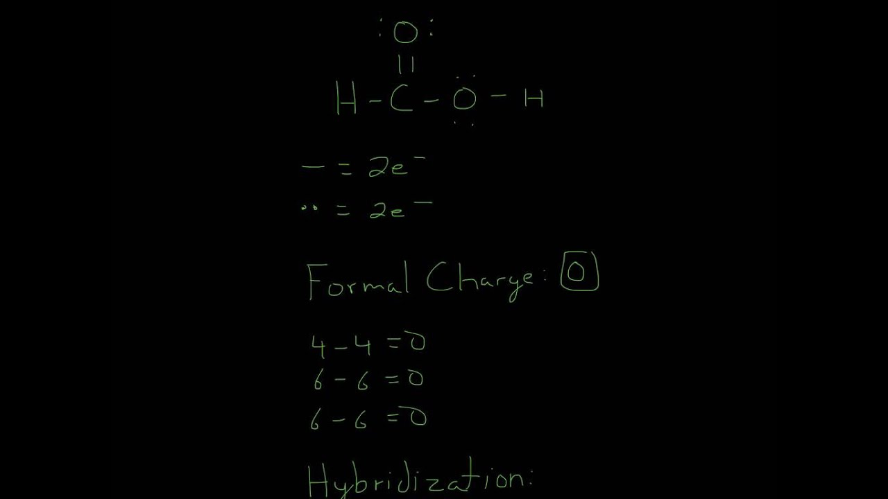 Nh4cl Lewis Structure: Lewis Structure Of HCO2H