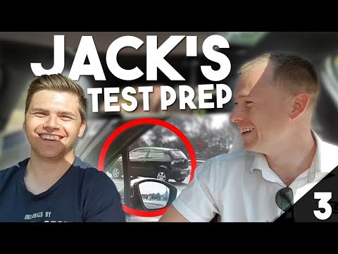 Final Lesson Before Driving Test w/ Jack (3/4)
