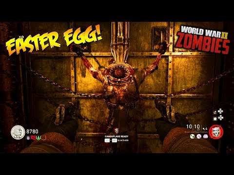 "WW2 ZOMBIES - ""THE DARKEST SHORE"" MAIN EASTER EGG HUNT GAMEPLAY! (Call of Duty DLC 1)"