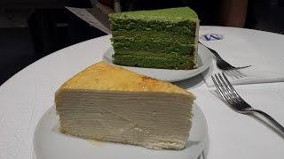 Lady M  Green Tea Signature Cakes