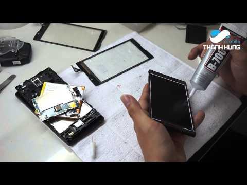 Dịch vụ thay mặt kính Sony