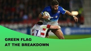 Green Flag At The Breakdown - Forward of the Month - October 2015
