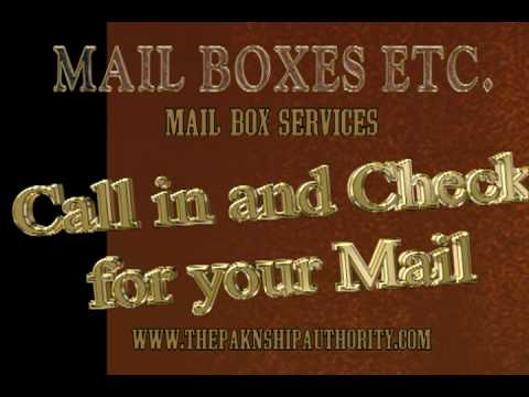 MAILBOX ETC :  SERVICES