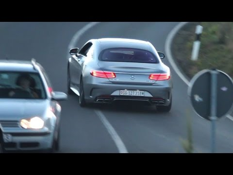 2015 Mercedes-Benz S63 AMG Coupe - Accelerating Sound + Start Up!