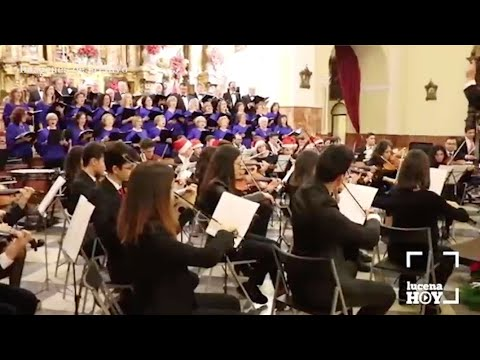 VÍDEO: La Coral Lucentina y la Orquesta del Conservatorio presentan su tradicional Concierto de Navidad