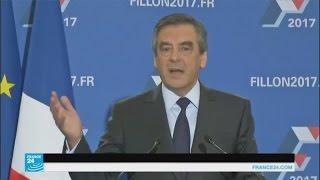 فرانسوا فيون رسميا مرشح اليمين والوسط للرئاسيات الفرنسية 2017.