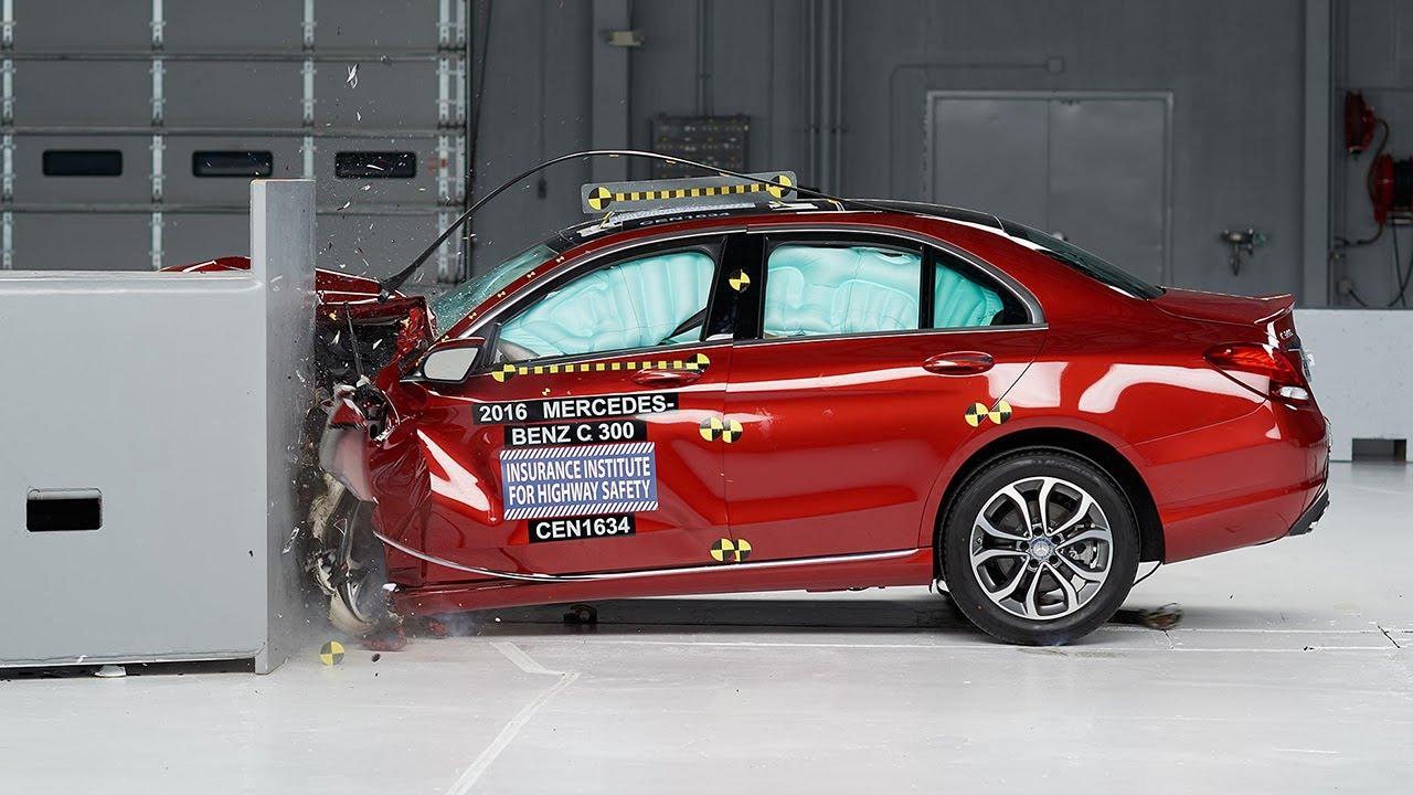 Image result for Mercedes benz c class crash test