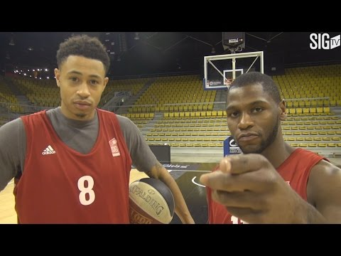Erving Walker et AJ Slaughter : trick shots challenge