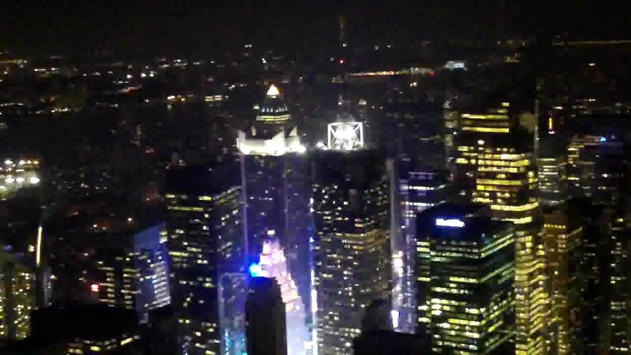 View Of Empire State Building At Night