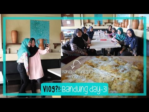 VLOG?! [24]: The Most Exciting Day!!😍 | Bandung Day 3